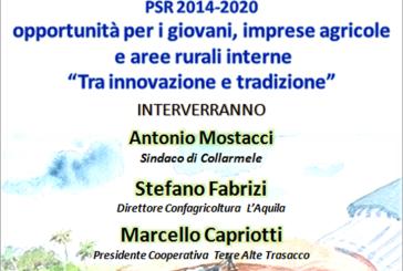 Convegno: PSR 2014-2020 Venerdì 8 Gennaio 2016 ore 17.00 Collarmele